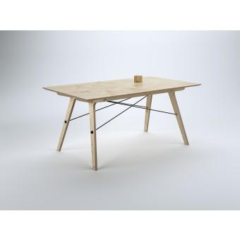 stückwerk plug(n)ply Tisch Birke (150x90cm)