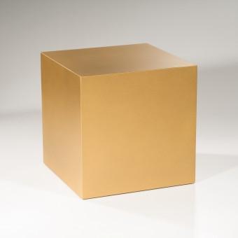 Lupadesign Pasch6, gold - Couchtisch, Beistelltisch, Hocker