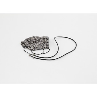 Lapàporter – Maskenkette/Maskenband aus geflochtener Lederkordel – verschiedene Farben