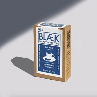 BLÆK Specialty Instant Kaffee NØ.1 - Box