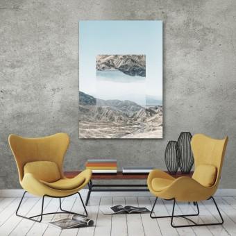 JOE MANIA / Modern Artprint Poster / Landscapes Mirrored  1 (Death Valley) DIN A4 - A0