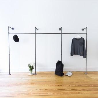 various Offener Kleiderschrank TRIPLE HIGH (light)