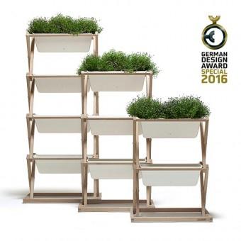 """urbanature Pflanzenbeet - """"Vertikaler Garten"""""""
