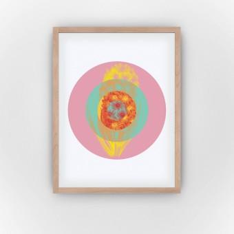 Floral Crosshair (Fine Art Bureau)