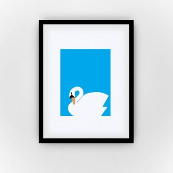 Shy Swan (Fine Art Bureau)