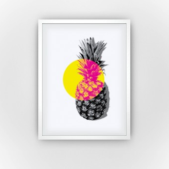 Pineapple Spotlight (Fine Art Bureau)