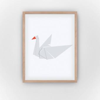 Grey Swan (Fine Art Bureau)