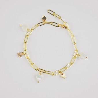 Valerie Chic - ENDLESS LOVE Armband - 18 Karat vergoldet