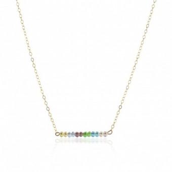 Anoa Kette 'slim color line'