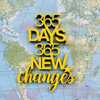 NOGALLERY 365 days, 365 new changes- Deko Schriftzug Holz