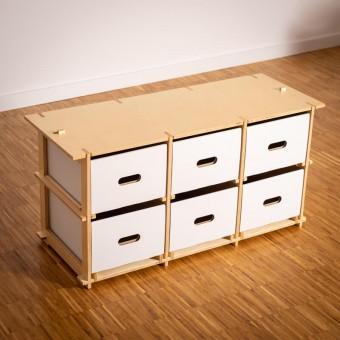 16boxes - Threebytwo (3x2) - Sitzbank