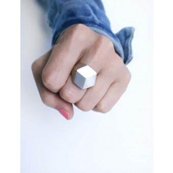 """Pictofactum Echtschmuck-Ring """"Klimax"""" 925er Silber"""