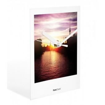 "PolaClock ""IN THE EVENING"" Wanduhr / Tischuhr im Polaroid-Look by Kathrin Schiebler"