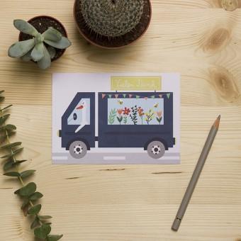 """HEJ Marlen Postkarte """"Danke"""""""