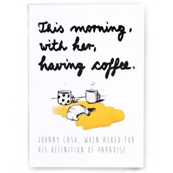"PETERSEN Poster ""Johnny Cash"" (A3)"