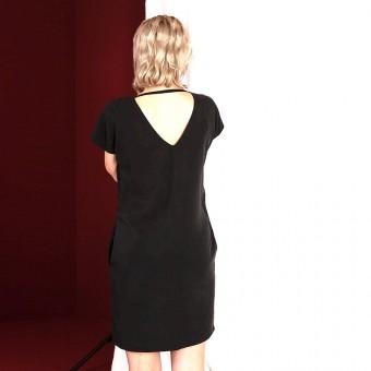 """WiDDA - schwarzes Kleid aus Tencel """"Caro"""""""
