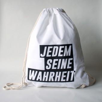 """KINDERGELD TURNBEUTEL """"GÜNTER"""" JEDEM SEINE WAHRHEIT"""