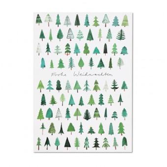 likemotherlikeson Weihnachtskarte Wald