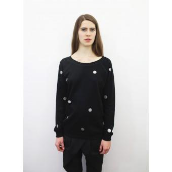 Zitat Glitter Sweater