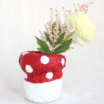 Catchup Studios - nachhaltige Vase - Lil Fliegenpilz Vase
