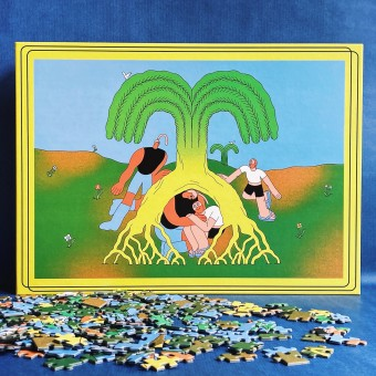 "Das Puzzle Kollektiv - Puzzle ""Tree of Love"""