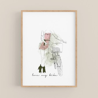 nathys_illustration - love my bike DINA4