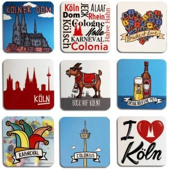 Stadtliebe® | Köln 9 flexible Magnete im Set