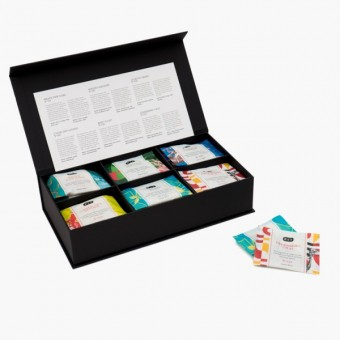 P & T 6 Graces Amenity Box - Tee Geschenkbox