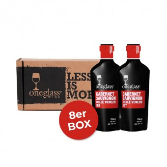 Cabernet Sauvignon Box ONEGLASS 100ml