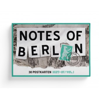 NOTES OF BERLIN – Postkarten-Box von seltmann+söhne
