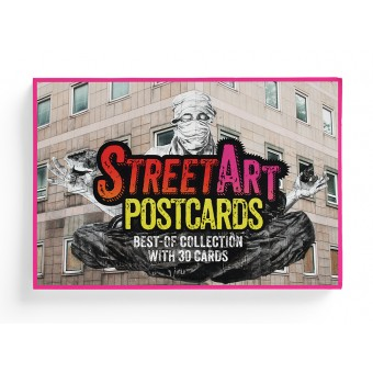 STREETART POSTCARDS – Postkarten-Box