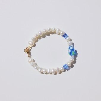 Valerie Chic - HAPPY BERRY Perlen Armband - Blau
