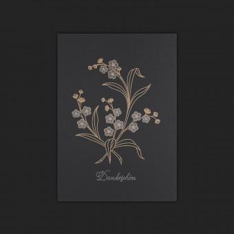 Feingeladen // BOTANICA // Dankeschön (Black Edition) – A6