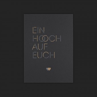Feingeladen // LOVE STORIES // Ein Hoch auf Euch (Black Edition) – A6