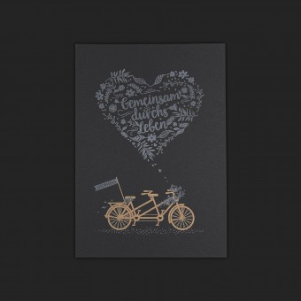 Feigeladen // LOVE STORIES // Tandem (Black Edition) – A6