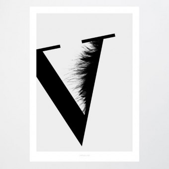 typealive / ABC Flying Letters - V