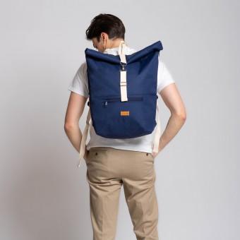 MULINU Rucksack CLASSIC ALBERT blau