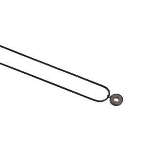 "BeWooden Halskette aus Holz in runder Form ""Apis Nox Necklace Circle"""