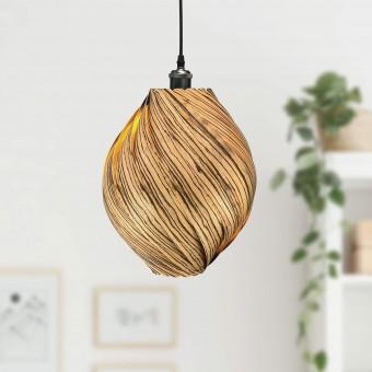 Gofurnit Hängeleuchte - Kollektion 'Ardere' aus Zebrano Holz