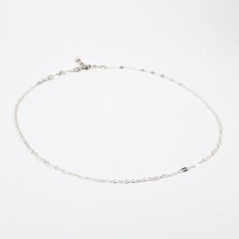 ST'ATOUR ARIELLA – Dünner Choker Silber