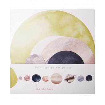 SOLAR SYSTEM PRINTS - ANNA COSMA