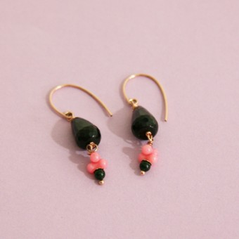 Irmeline - Accessoires Manufaktur Ohrringe »Lempicka *1« petite