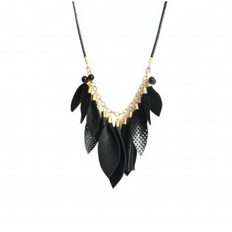 vanBALO WINGS Kette – schwarz gold