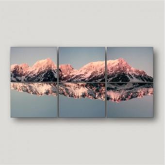 """ZEITLOOPS """"Alpen, gespiegelt"""", 6teiliges Ensemble"""