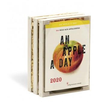 Verlag Hermann Schmidt Jochen Rädeker: An Apple a Day 2020366 alte Apfelsorten
