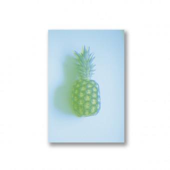 "ZEITLOOPS ""Ananas, Risograph"", Fineartprint, 40x60cm"