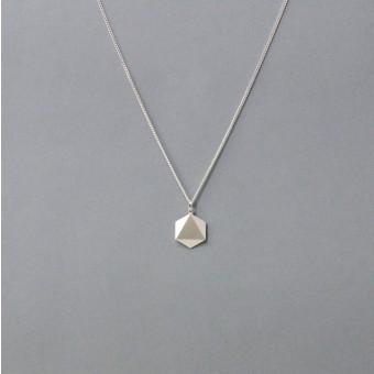 """Teresa Gruber Anhänger """"flat platonics- hexagon"""", 925 Silber"""