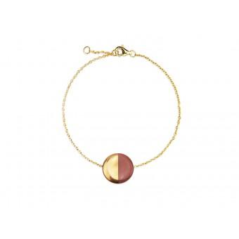 lille mus Porzellan-Armband Halbkreis(Farbwahl)