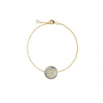 lille mus  Porzellan-Armband Knoten (Farbwahl)