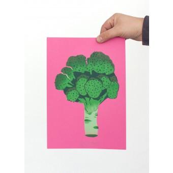 Martin Krusche – Artprint Stencil »Brokkoli« DINA4